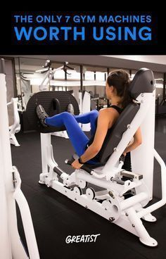 Repeat after us: There is nothing wrong with using weight machines. #fitness greatist.com/...