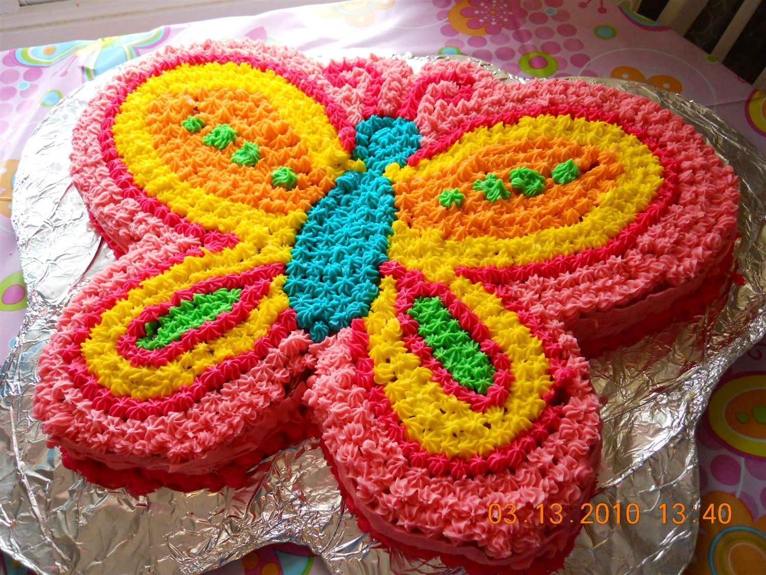 Butterfly Decorated Sheet Cakes