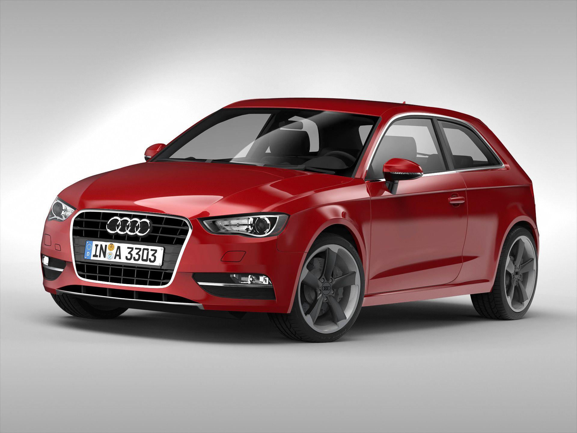 Ds Audi Car D Model DModeling Pinterest - Audi car 3d games