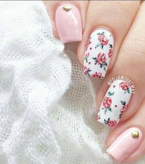 Pin de Elsa Pato en Nails | Uñas vintage, Arte de uñas ...