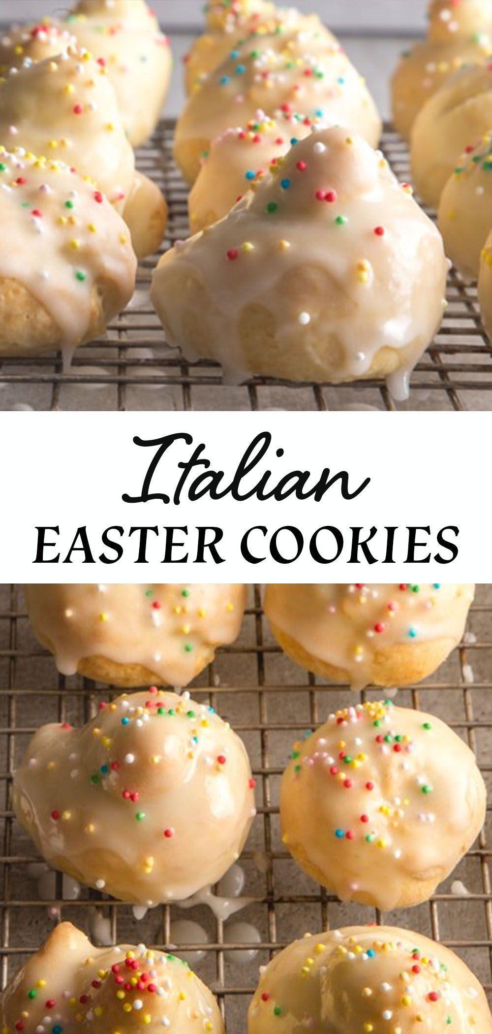 Photo of Italian Easter Cookies / Uncinetti #Cookies #Easter #easter recipes ideas #easte…