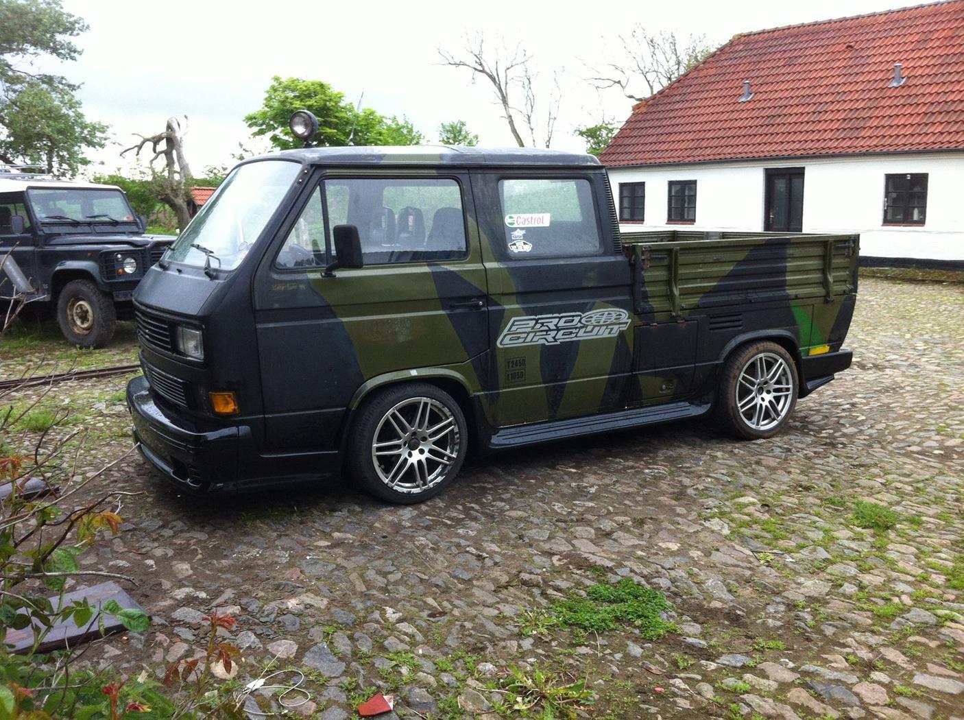 vw t3 doka 1990 vw t3 oldbus pinterest vw volkswagen and volkswagen transporter. Black Bedroom Furniture Sets. Home Design Ideas