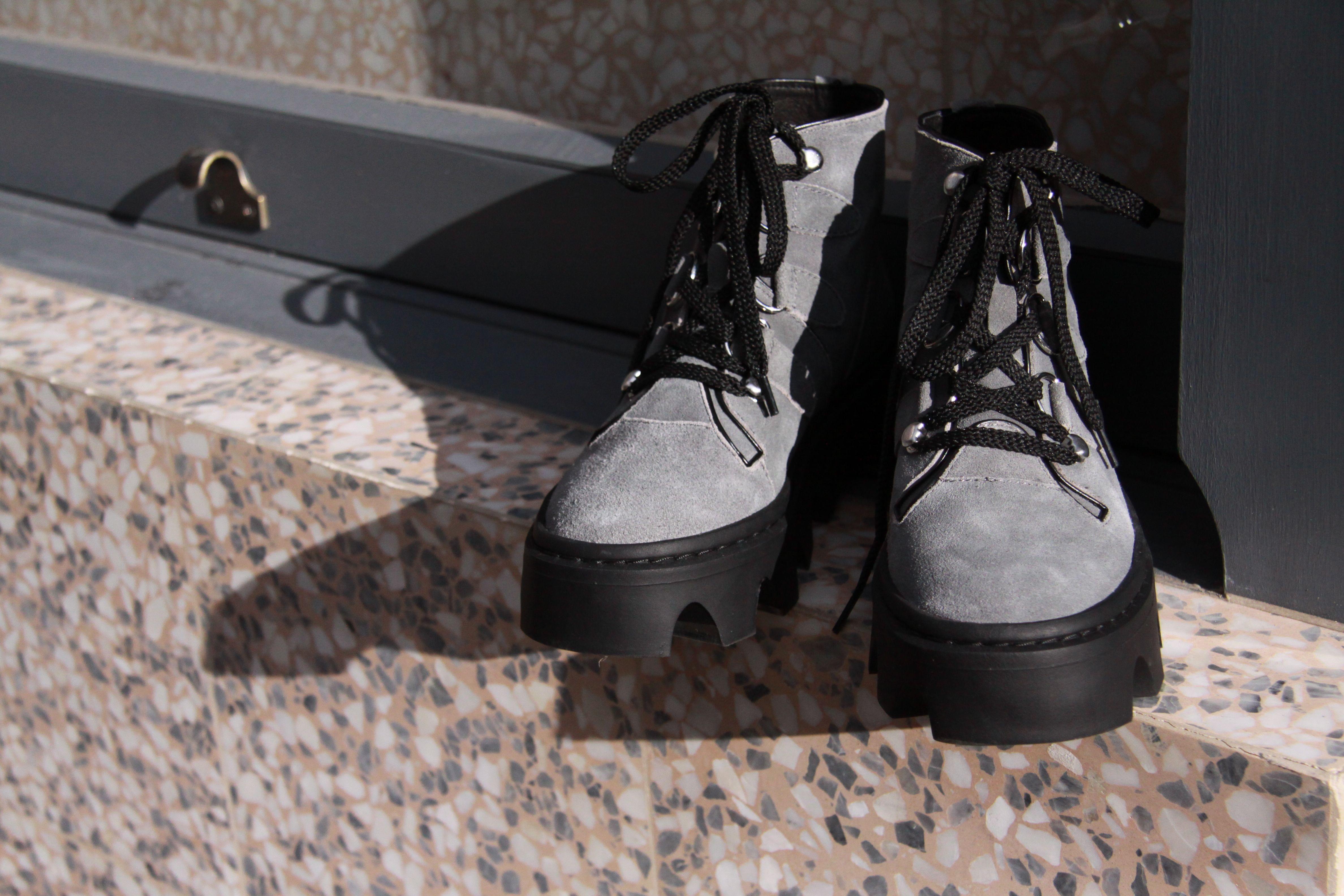 8c8c2492f4164 Evolution jungle boot – white leather