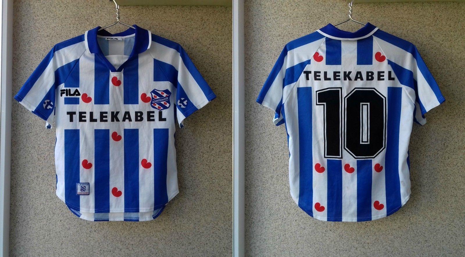 SC Heerenveen 1999 2000 Home football shirt S Jersey Soccer FILA Camiseta  OLD (eBay Link) 63a029695