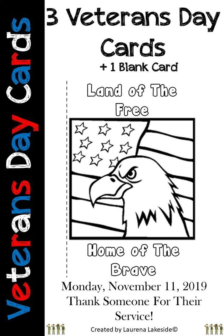 Happy Veterans Day Cards: USA Veterans Day: Thank You Cards #veteransdaydecorations Are you looking for something different this veterans day? Then look no further! Your kiddos will have fun coloring in one of these 3 veterans day cards. They are unique and make a lovely keepsake for a hero.  Click on the image and find alternative ways to use these cards.  #veteransday #veterans #veteransday2019 #coloringcards #bulletinboardideas #bulletinboards #classdecor #teachingideas #teachingresources #fu #veteransdaydecorations