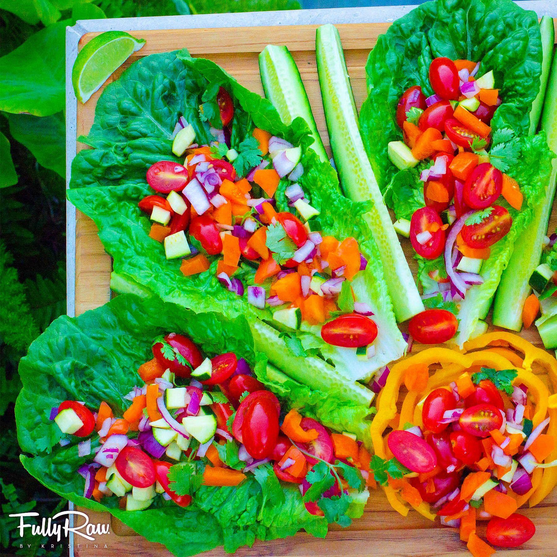 Dynamic Orange Tomato Dressing Video Raw Vegan Recipe: #FullyRaw Tacos! In Honor Of #NationalTacoDay, Sharing
