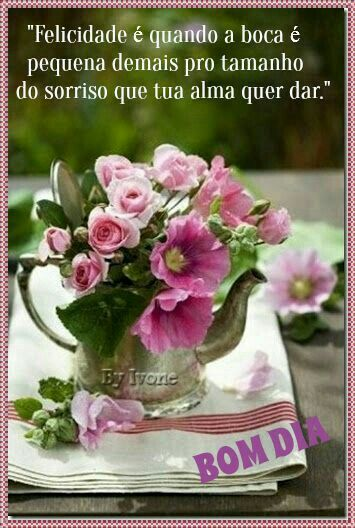 Viva O Hoje Flores Frases Frases De Bom Dia Mensagens Para