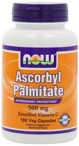 Ascorbyl Palmitate NOW Foods 500mg 100 vcaps