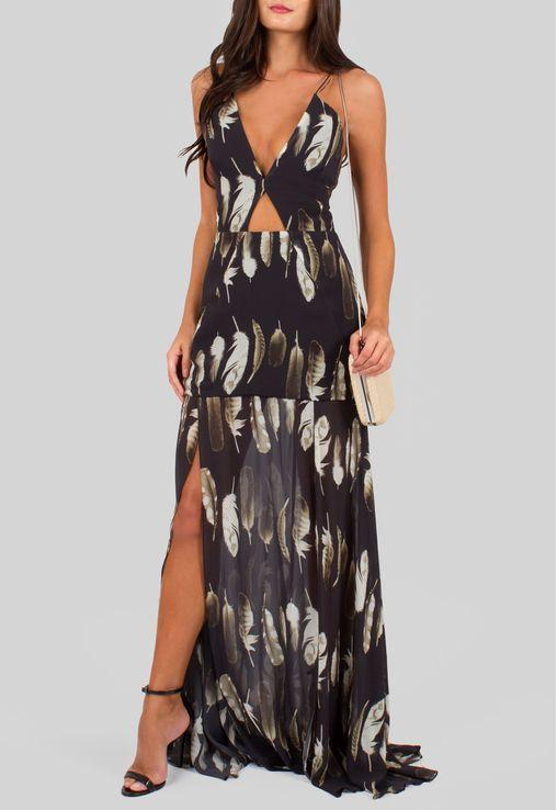 68123bc01 vestido-penas-longo-com-fendas-frontais-animale-estampado | grapette ...