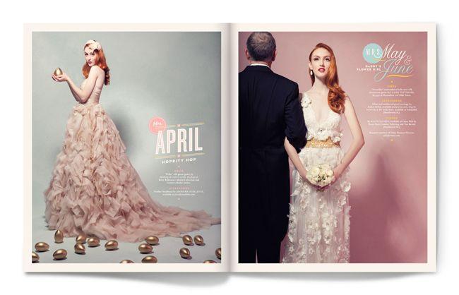 Calendar Girl - Apr, May, Jun