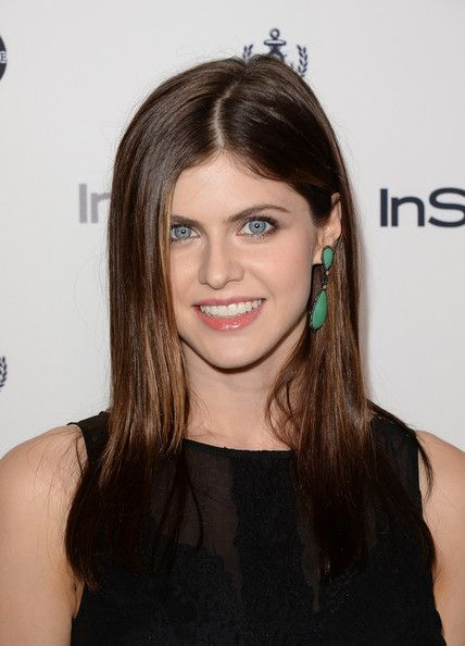 Alexandra Daddario Photos: Arrivals at the 12th Annual InStyle Summer Soiree