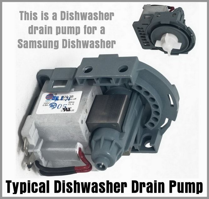 Dishwasher Is Noisy During Drain Cycle What To Check Drain Pump Samsung Dishwasher Dishwasher