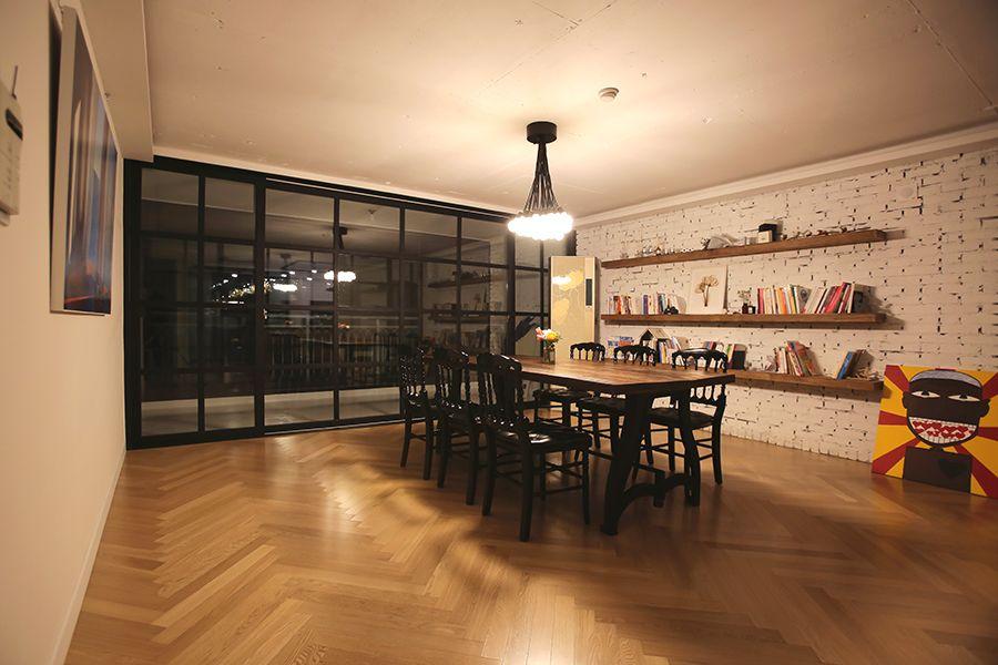 [디자인 디테일] 거실을 서재처럼, 거실 서재 인테리어 : 네이버 ...