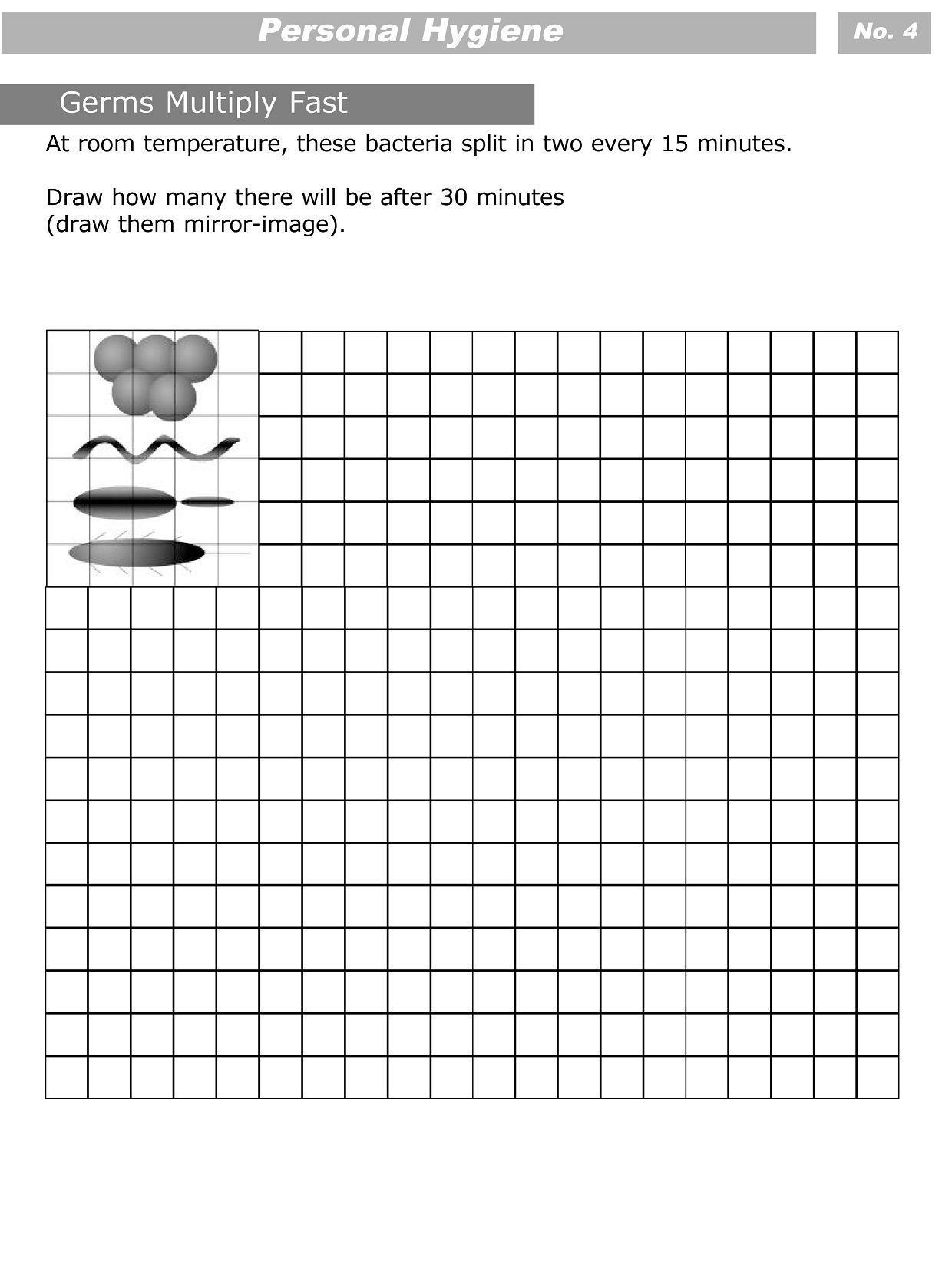 Personal Hygiene Worksheets For Kids Level 3 4