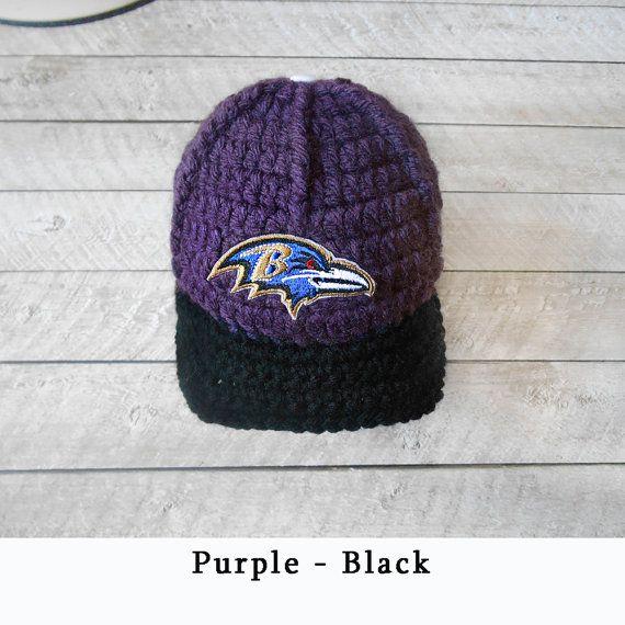 86f52968 Baby Boy Hat, Baltimore Ravens Baby Boy Cap, Baby Boy Hats, Newborn ...