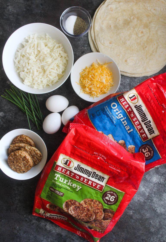 Breakfast crunch wrap addicted to recipes recipe