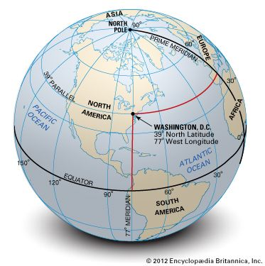 Map Still As Shown On The Small Scale Globe Perspective