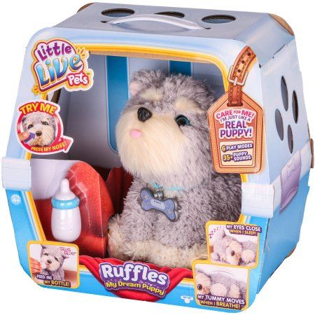 Little Live Pets Ruffles My Dream Puppy Walmart Com Little