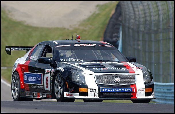 2008 Cadillac Cts V Factory Race Car Driven By Andy Pilgrim After