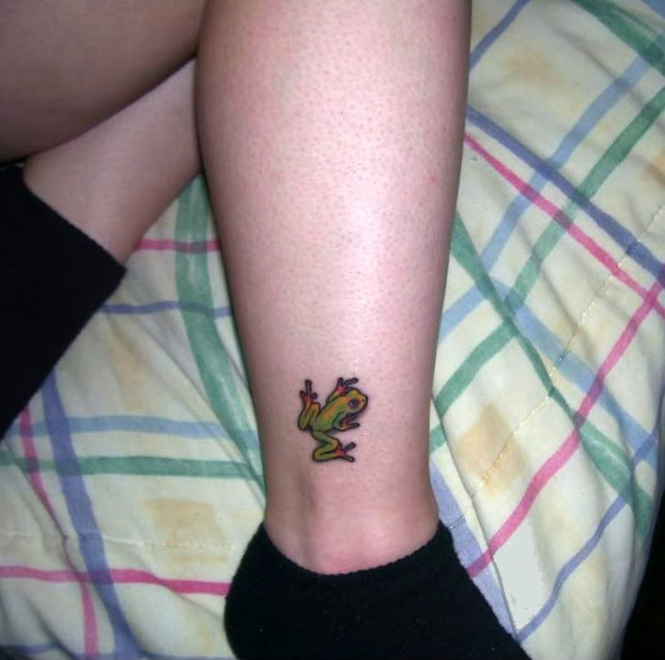 Frog Ankle Frog Tattoos Tattoos Family Tattoos