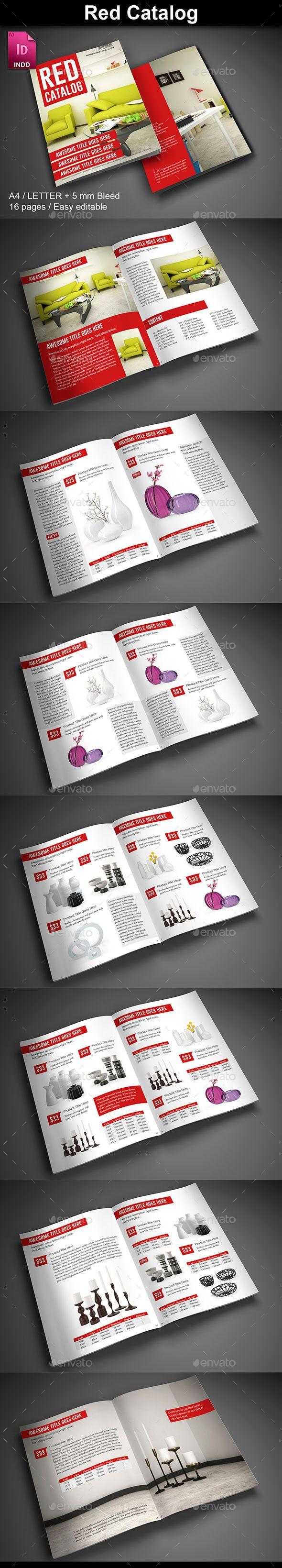 Red Product Catalog   Catálogo