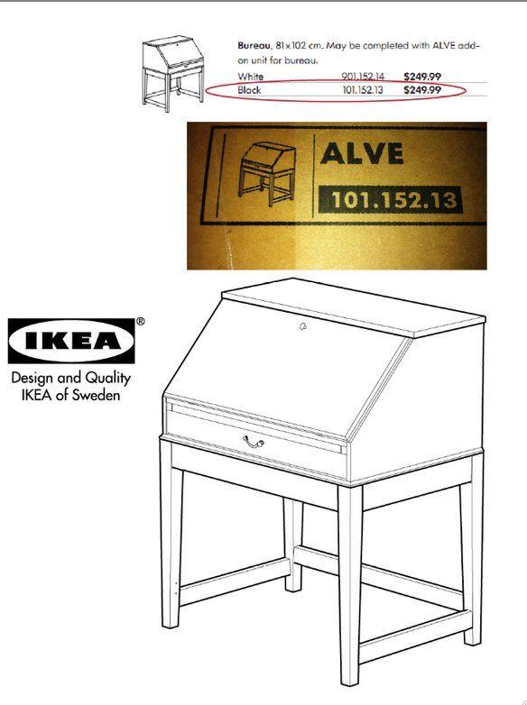 Loading Ikea Secretary Desk Secretary Desks Ikea Alve