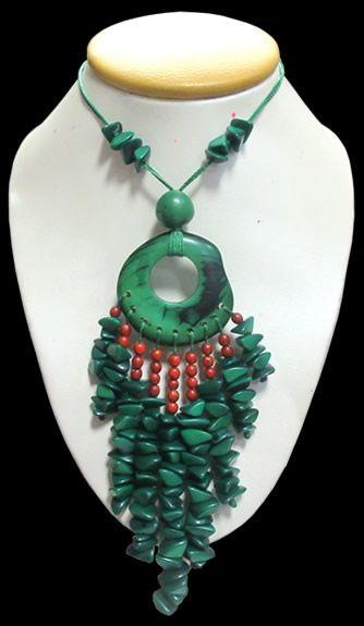 12 Peruvian Wholesale Tagua Necklaces, Assorted Models - MOCHIKASHOP.COM - Wholesale Export