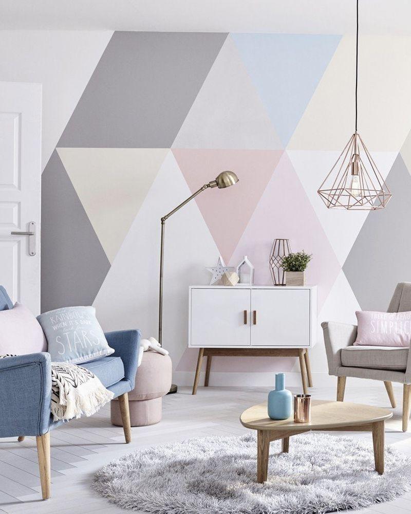 10 Diy Deco Pour Relooker Les Murs De Votre Salon Idee Deco Deco Salon Et Relooking Salon