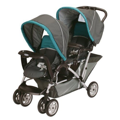 Graco DuoGlider Classic Connect Stroller Dragonfly 047406119394 Accepts Two Infant Car Seats Holds 2 Children Up To 40