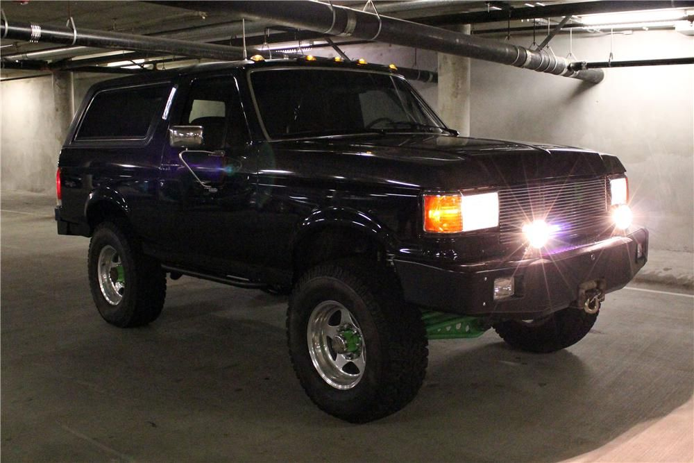 1989 Ford Bronco Lot 121 Barrett Jackson Auction Company Ford Bronco Bronco Ford Suv