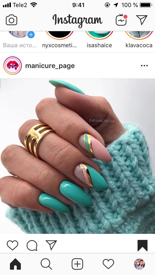 Изображение Красивые ногти от пользователя Чайко Алина на ...