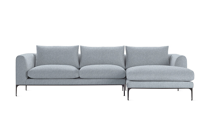 Jonas Sectional With Chaise Sectional Armchair Design Design Within Reach