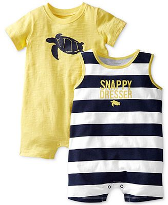 f0f4633b0 Carter s Baby Boys  2-Pack Rompers - Kids Baby Boy (0-24 months ...
