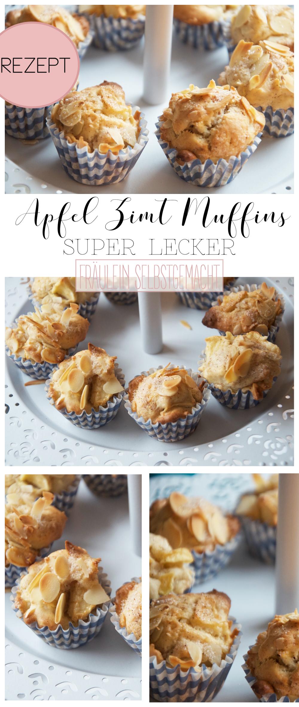Apfel Muffins super saftig und lecker selber backen