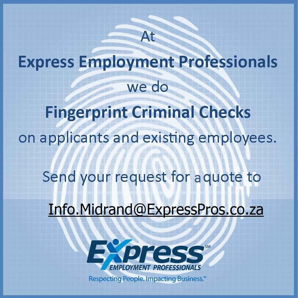 Pin on Express Employment Professionals Midrand Services