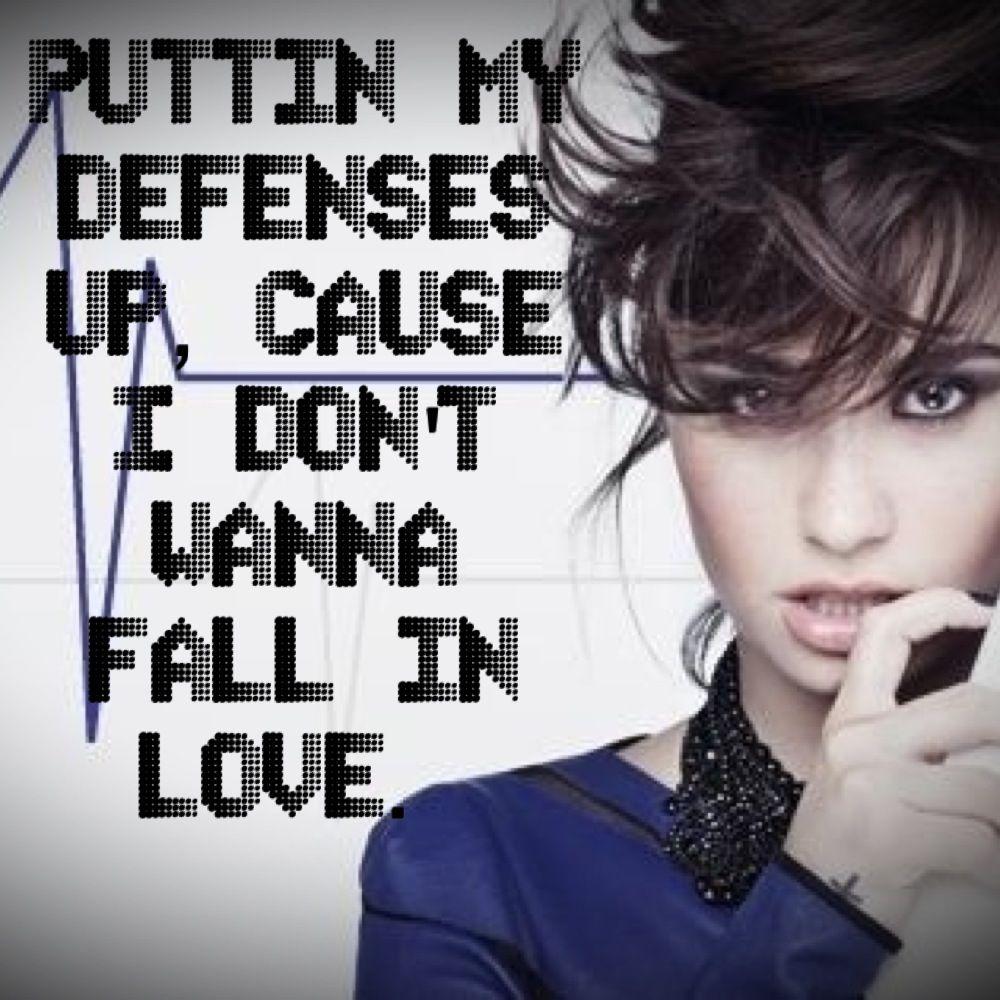 Pin By Christa Romportl On Song Lyrics Demi Lovato Lyrics Love Songs Lyrics Inspirational Lyrics