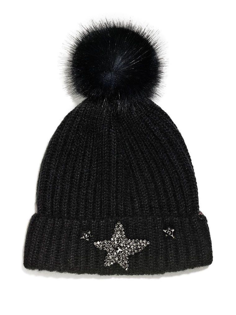 39017fe33c473 Victoria s Secret Winter Angel Sparkling Star Hat