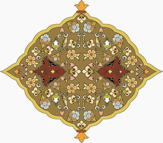 موسوعة صور المهندسة زخارف اسلامية 8 امتداد Eps Cicekli Desenler Cizimler Sanat