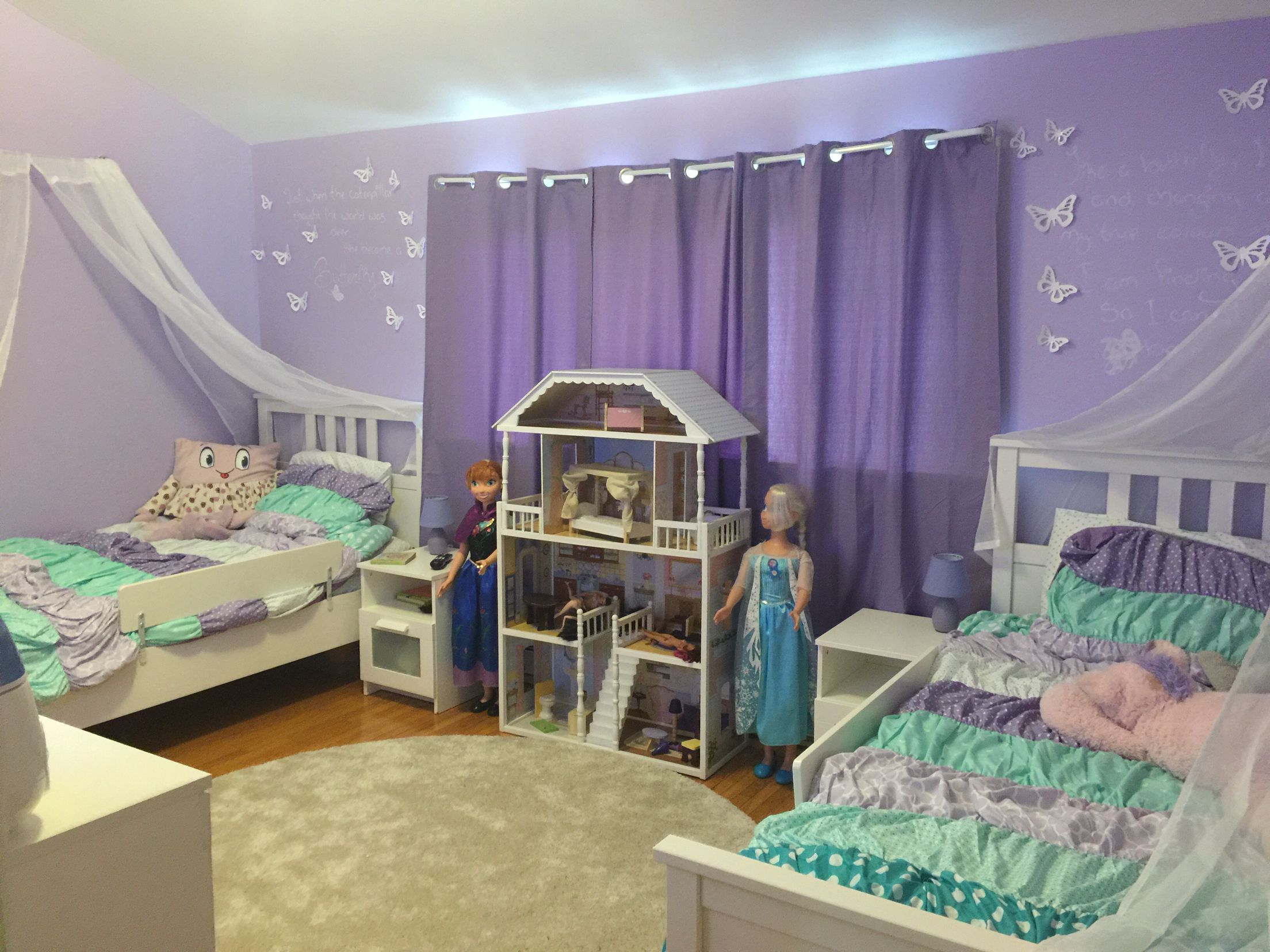 Purple Rooms For Girls Little Girls Room  Purple Bedroom  Pinterest  Room Girls And