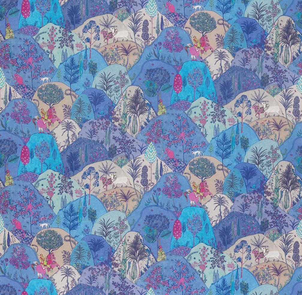 Textile Tuesday Aravali by Osborne & Little Wallpaper