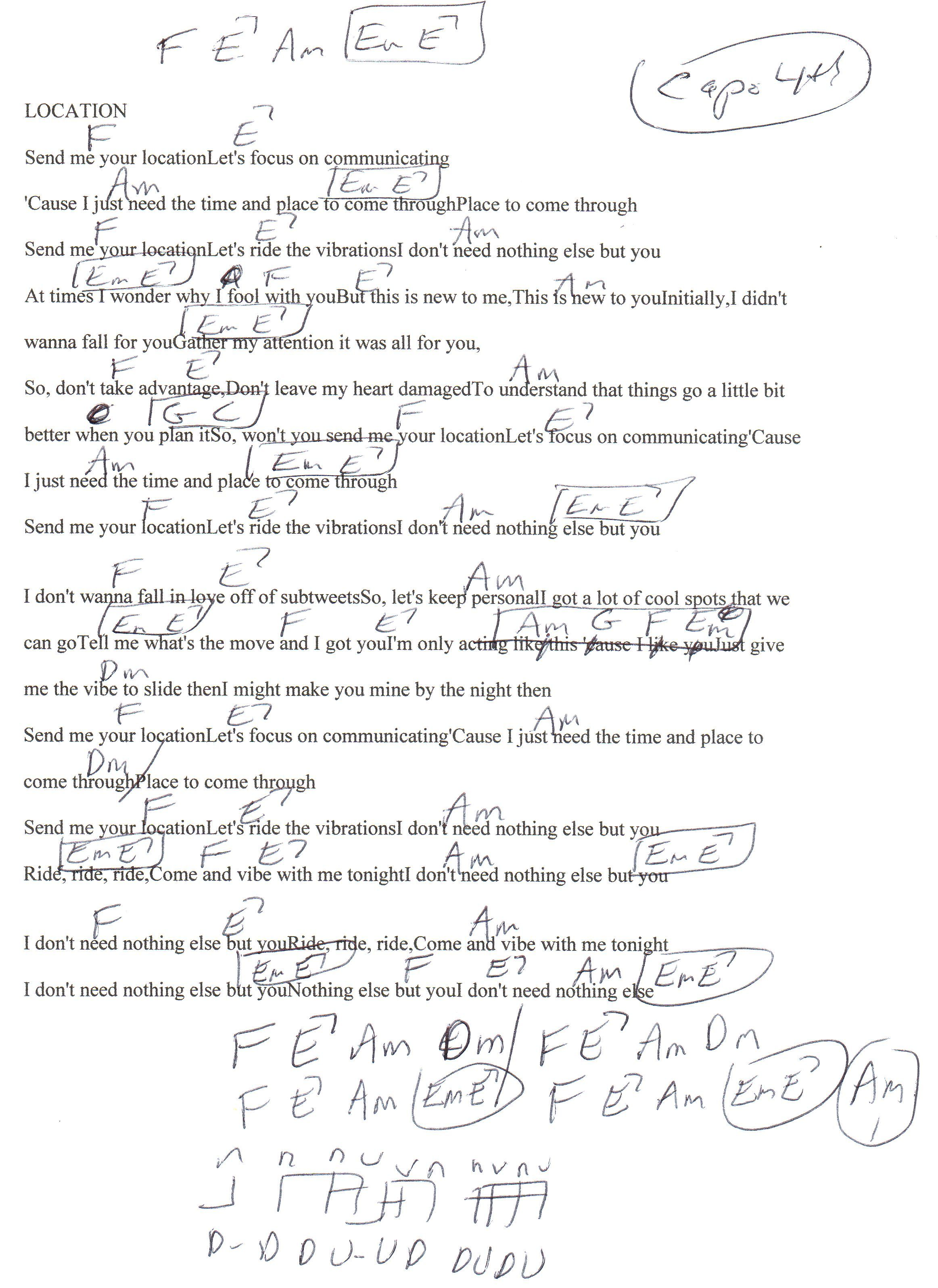 Ed Sheeran Photograph Chords Capo 4 Ukelessons Tips For
