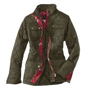 Had to have this jacket!  Barbour Quilt Jacket For Women / Barbour® Emma Wedgwood Quilt