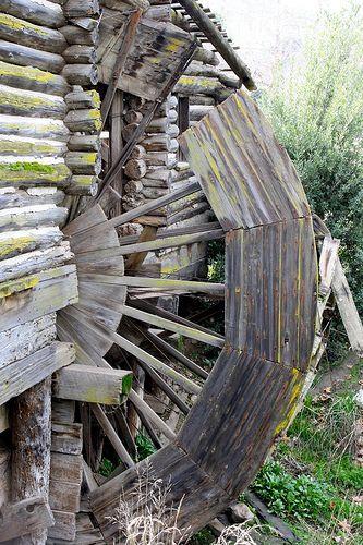 the historic hart park water wheel water wheels water mill
