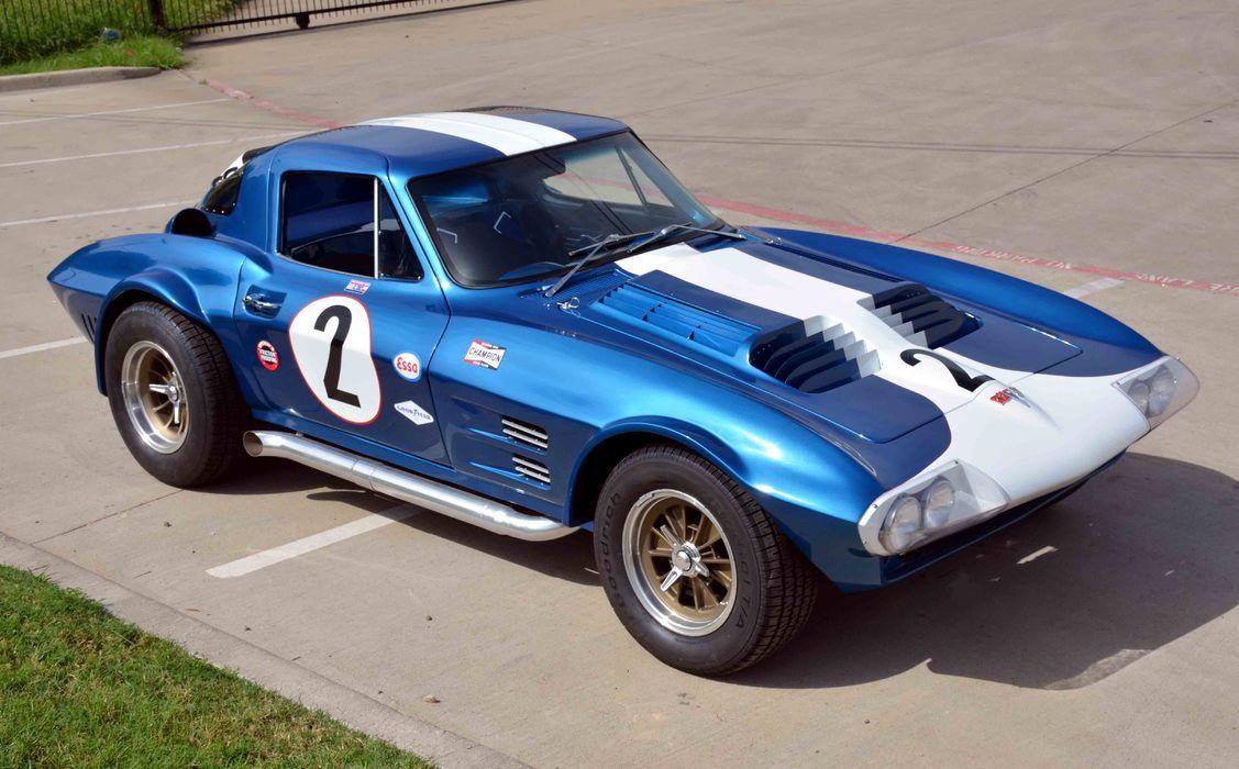 1963 Corvette Grand Sport 2d Coupe Corvette Race Car Corvette Grand Sport Classic Racing Cars