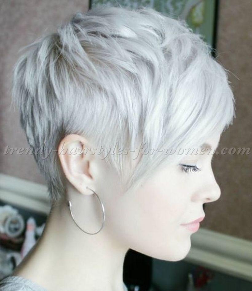 Cool Short Pixie Blonde Hairstyle Ideas 88 Hair Ideas Short Hair