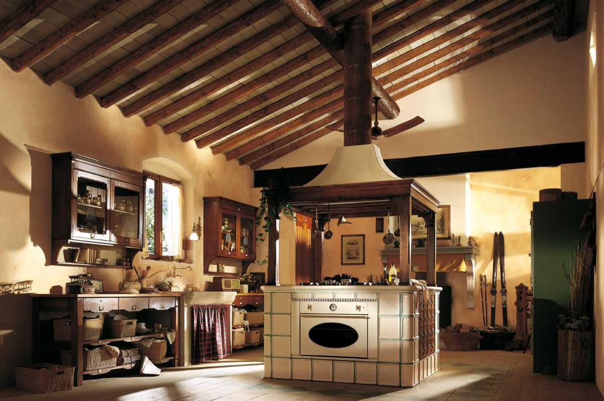 Marchi Group - Hemingway Cucina country rustica made in Italy ...