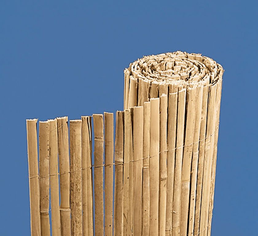 Bamboo Fencing Split Bamboo Garden Fence Gardener S Supply