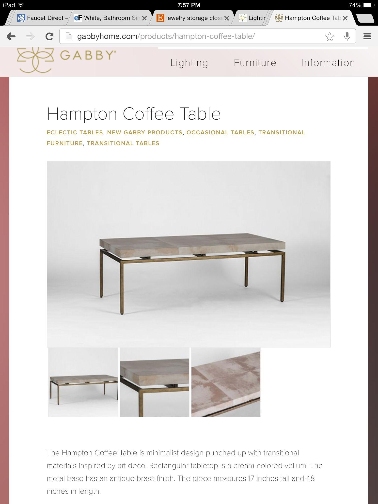 Cream Colored Vellum Top Antique Base Coffee Table Gorgeous Lines - Antique cream coffee table