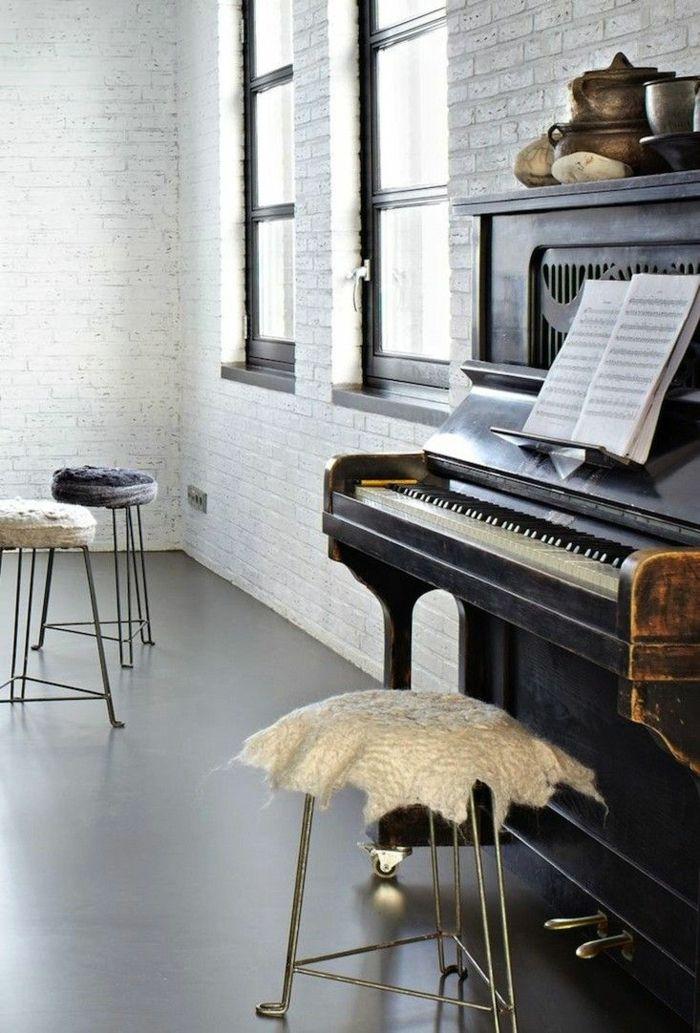 vintage klavier in der wohnung haben wohnung pinterest klavier vintage und fl gel klavier. Black Bedroom Furniture Sets. Home Design Ideas