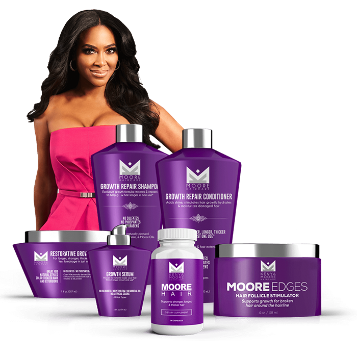Kenya Moore Hair Care kenya moore hair care